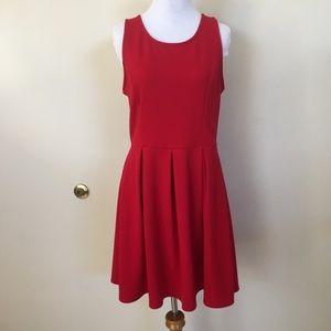 Ezra red dress